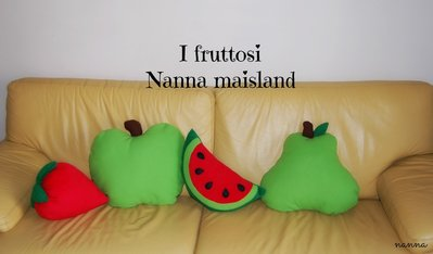 cuscini handmade I FRUTTOSI