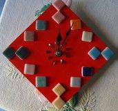 """orologio in legno """"red"""""""