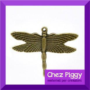 1 charm LIBELLULA - bronzo