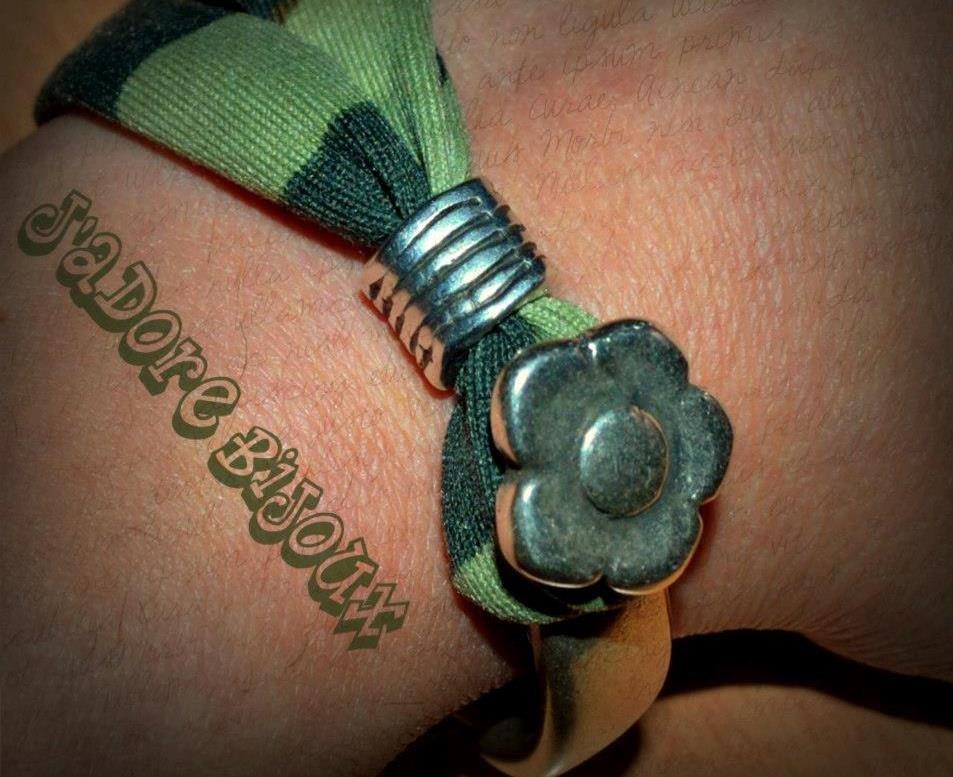 bracciale lycra e metallo