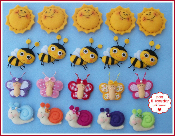 Soli, api, farfalle e lumache