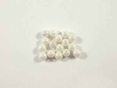 Round Beads Shimmer, 6 mm, 14413  Confezione da 30 pezzi 1.20 euro