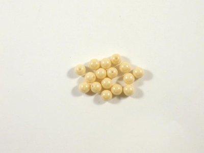 Round Beads ,Champagne Luster , 6 mm, 15726  Confezione da 30 pezzi 1.20 euro