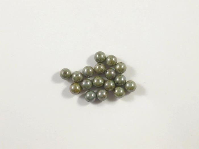 Rounds Beads, Blue Luster, 6 mm, 15695  Confezione da 30 pezzi 1.20 euro