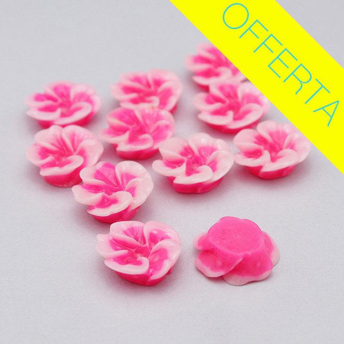 10 fiori in resina