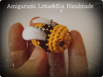 Little Bee..Apina Amigurumi