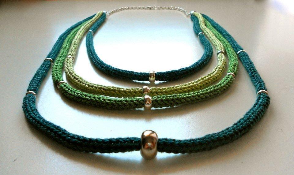 Collana Verde e Tricot
