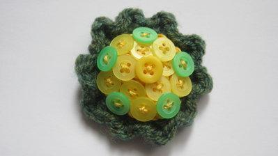 Le Spille Artigianali/ Sunflower pin
