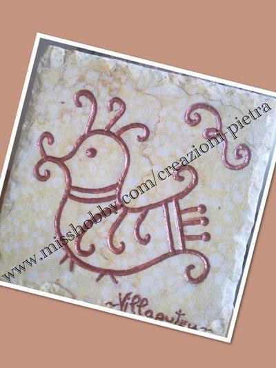 Mattonellina marmo incisa
