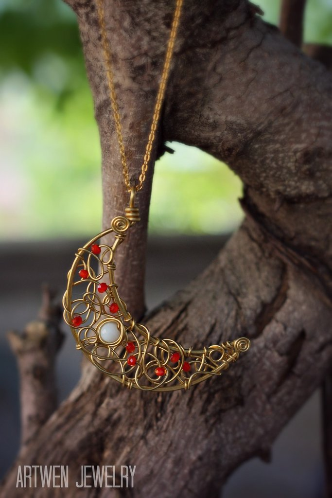 Collana Luna Rossa