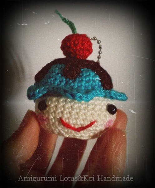 Cupcake Kawaii Portachiavi