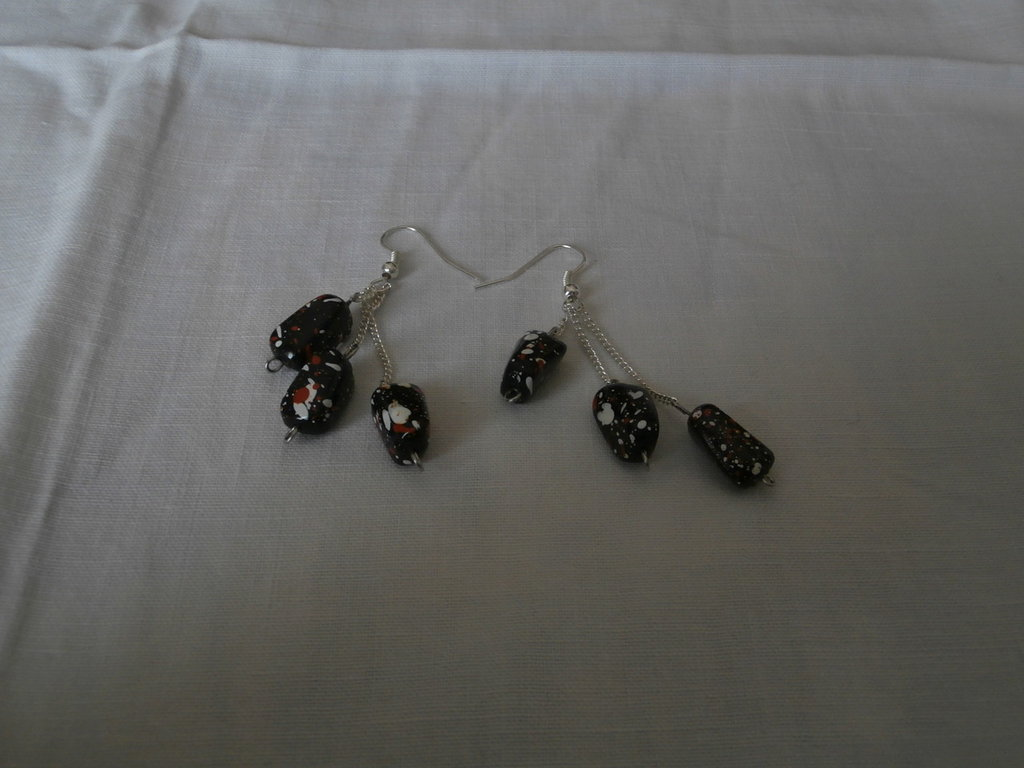 "Orecchini/Earrings ""Pollock Style"""