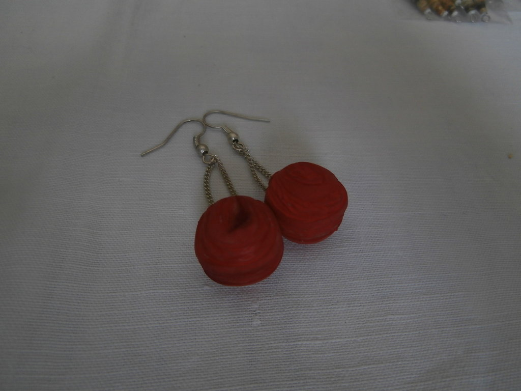 """New Life"" earrings"