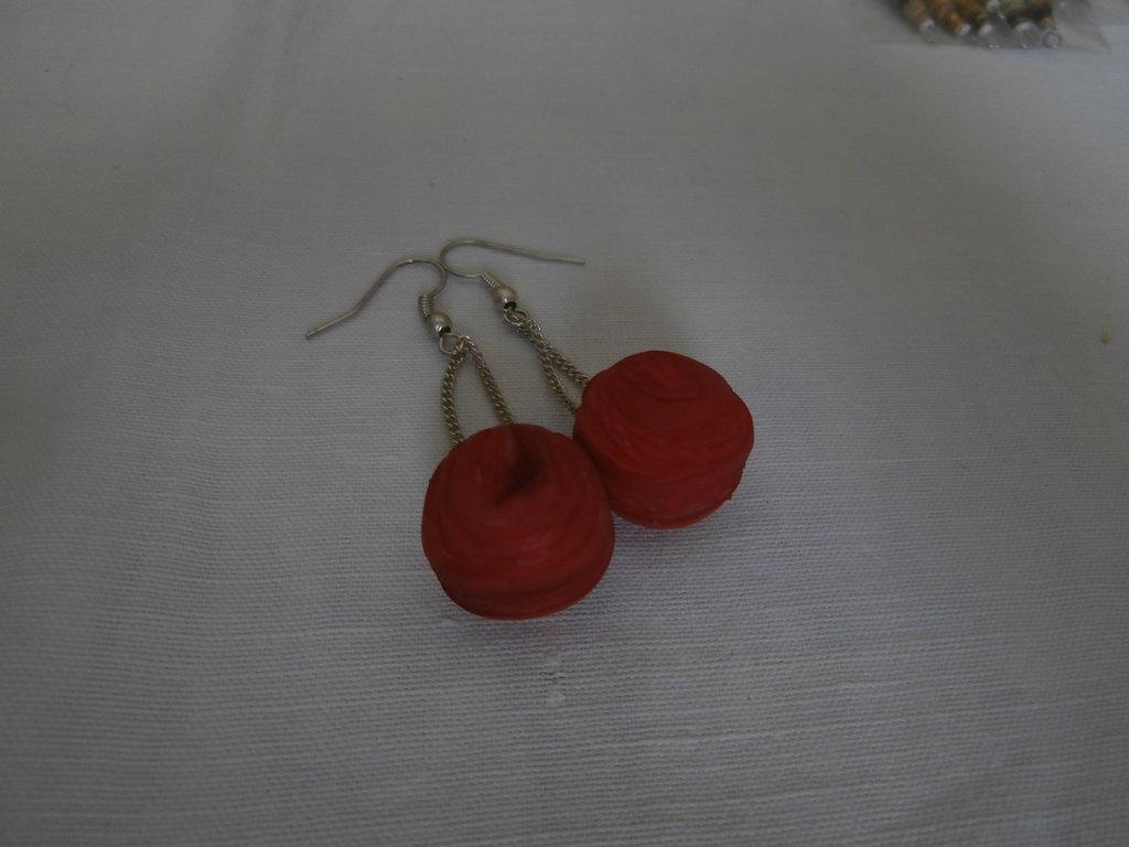 """New Life"" earrings"