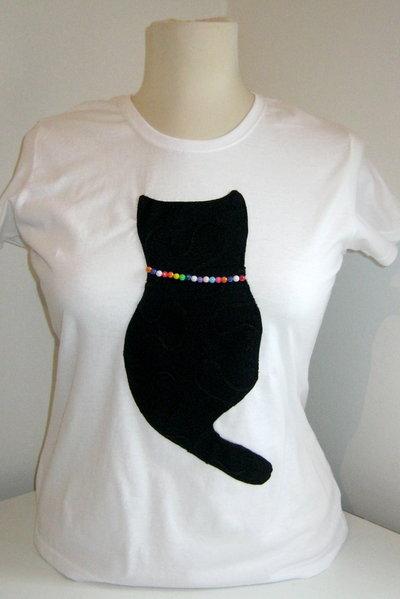 XL T-Shirt GATTO personalizzate!!
