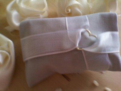 portaconfetti - bomboniera (grigio bianco) 3