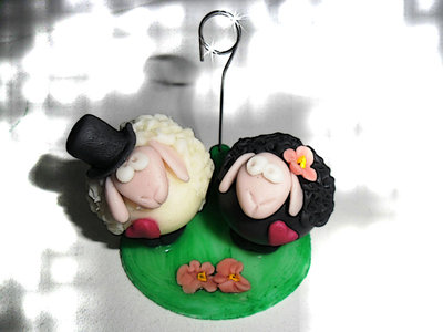 Portafoto Pecore innamorate