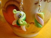 My little Pony e Marshmallow in Fimo Kawaii