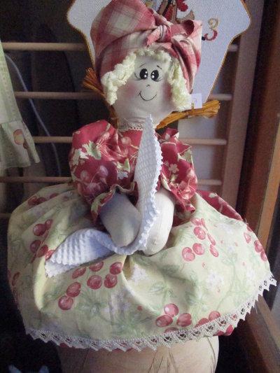 Bambola portassacchetti