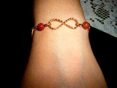 bracciale infinito wire