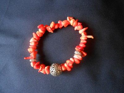 bracciale con coralli