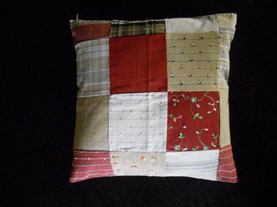 Cuscino patchwork cm 40x40