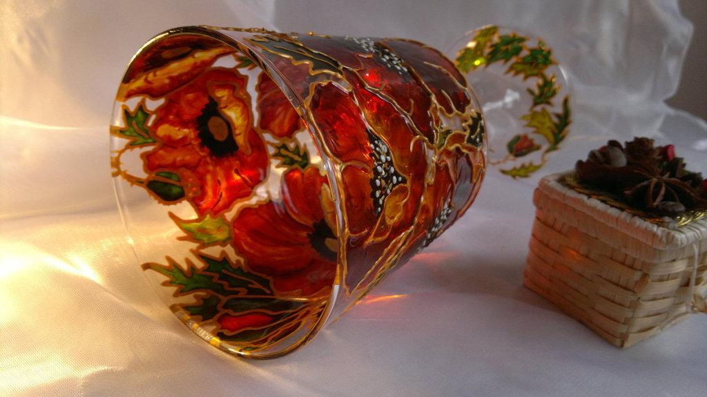 vetro,vaso,portacandele