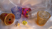 vetro,lanterne, portacandele