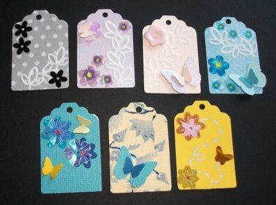 Mini Tags - etichette per scrapbooking & cardmaking