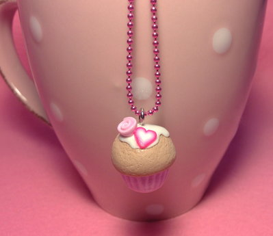 "Collana ""COLOR CUP CAKE"" - GUSTO FRAGOLA"