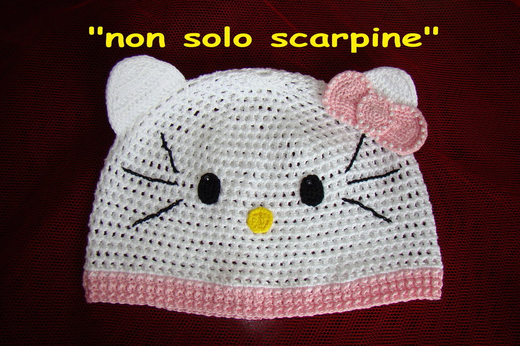 "Cappello per bimba. ""Kitty 1"""