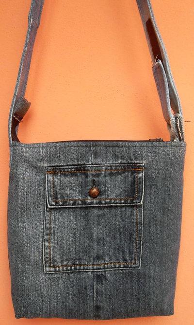 Borsa di jeans mini tracolla