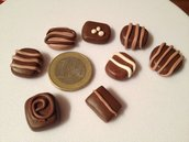 Mini praline in fimo