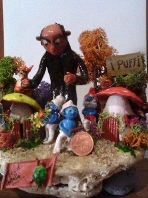 diorama puffi