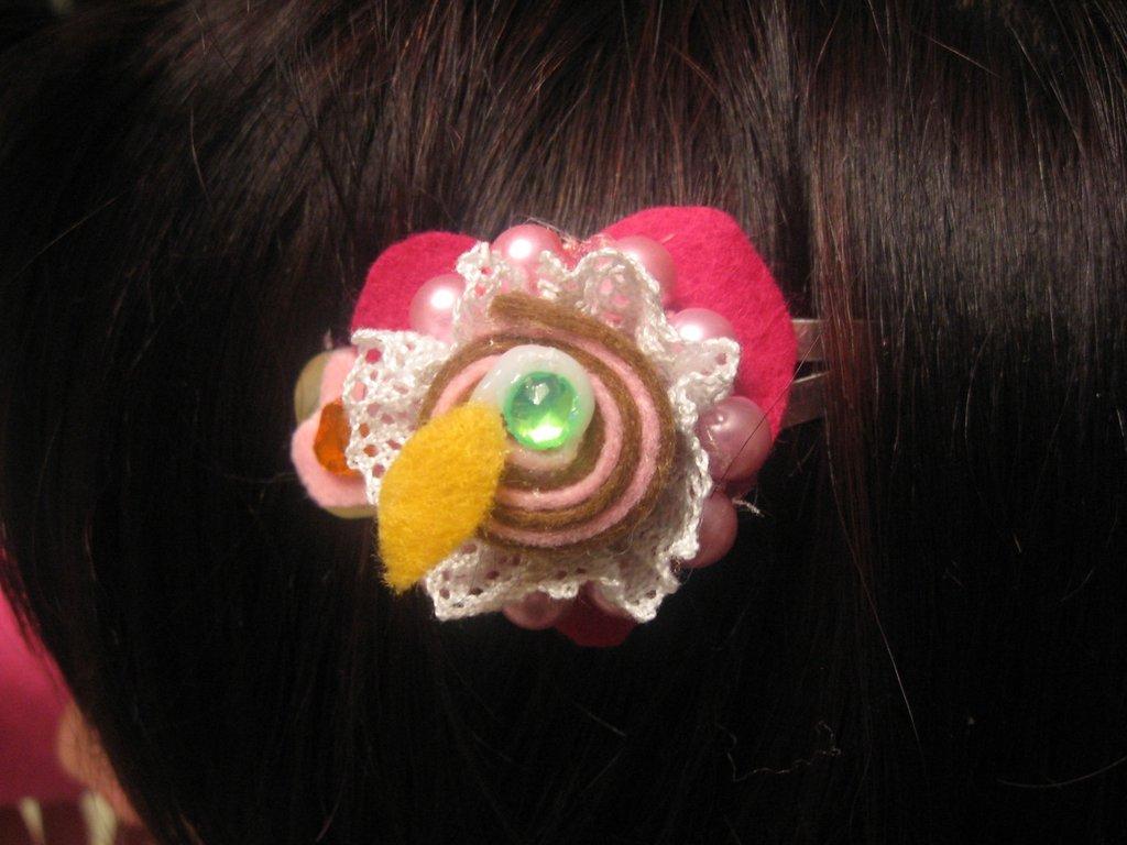 Fermacapelli Pasticcino