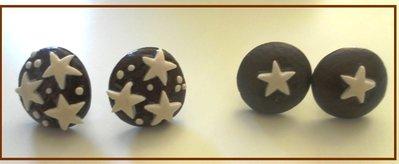 Orecchini pan di stelle e mooncake!!