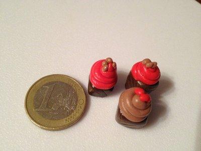 Mini cupcake in fimo