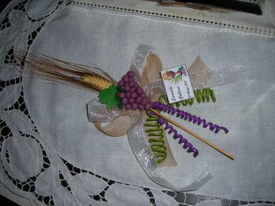 Grappolo uva con spiga