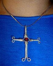 Collana con croce celtica