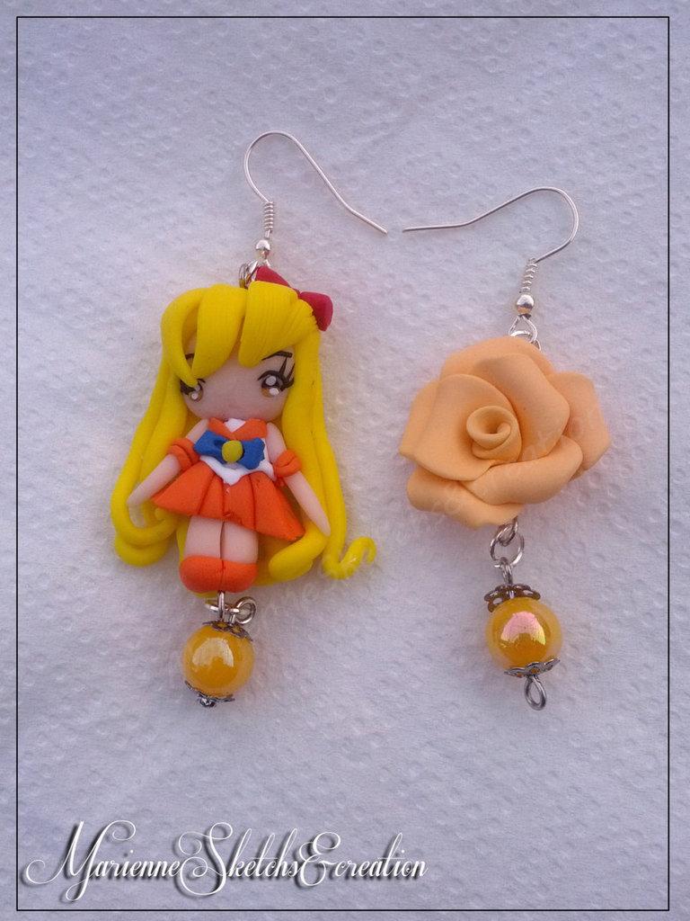 Orecchini Sailor Venus
