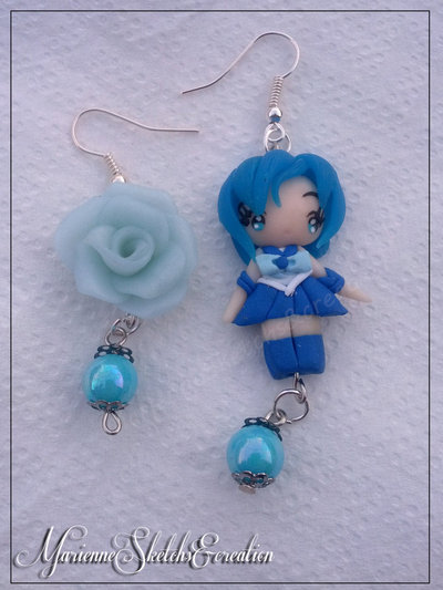 Orecchini Sailor Mercury