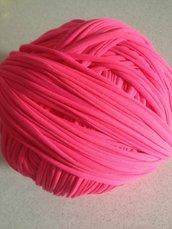 Fettuccia lycra rosa fluo (big bubble)