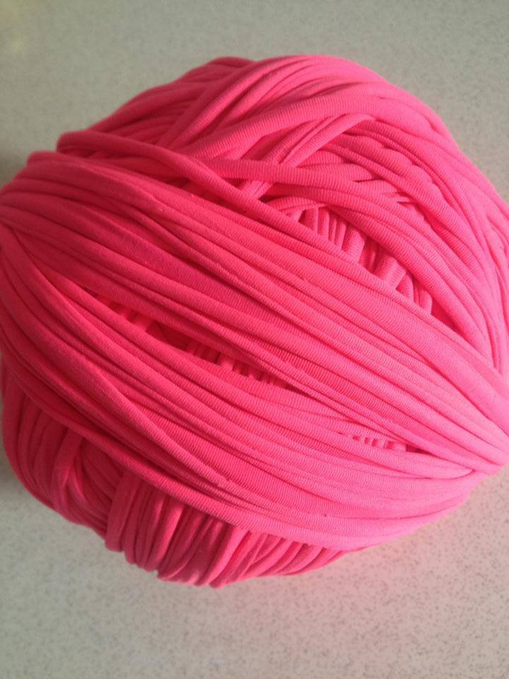 Fettuccia lycra rosa fluo (big bubble)