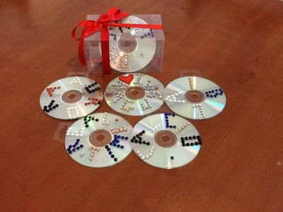 CD decorati e personalizzati