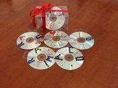 CD decorati e personalizzati