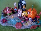 diorama ,spongebob