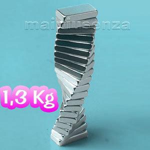 100 super MAGNETI potenti 10x5x2 magnete CALAMITA NEODIMIO calamite per FIMO - CORRIERE/posta RACCOMANDATA
