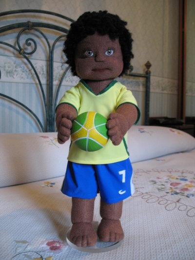 """""""Willy""""il piccolo calciatore della nazionale brasiliana!"""