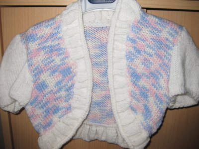 giacchettino in lana bambina