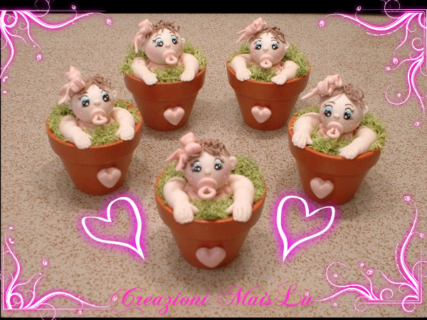 Bebè vasetto in pasta di mais